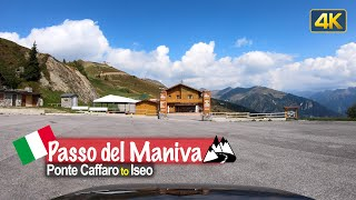 Driving the Passo del Maniva in Italy 🇮🇹 from Ponte Caffaro to Iseo | Scenic Drive Italy!