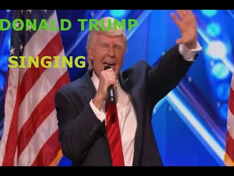 America's Got Talent. The Singing Donald Trump wins again. Full audition 2017 awesome singer on agt (видео)