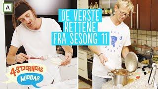 4-stjerners Middag | De 5 verste rettene fra Sesong 11 | TVNorge