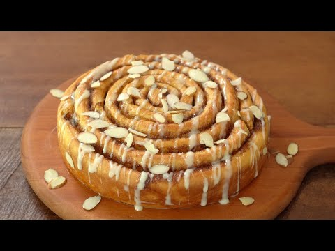 Giant Cinnamon Rolls Recipe :: Amazing and Delicious