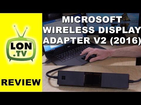 Microsoft Wireless Display Adapter v2 Review - New 2016 Version -  Windows and Android