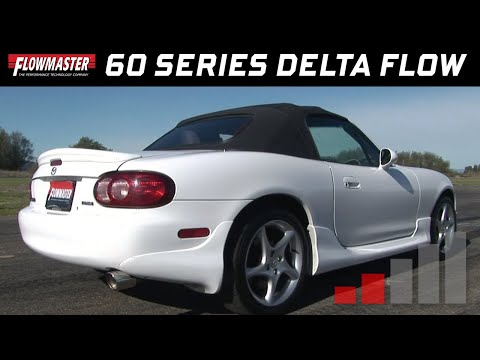 2003 Mazda Miata with Flowmaster 60 Series  Delta Flow Exhaust