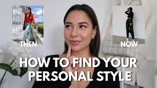 HOW TO FIND YOUR PERSONAL STYLE + MY STYLE JOURNEY | Haley Estrada