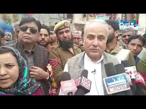 Hasnain Masoodi demands revocation of highway ban, calls it 'collective punishment'