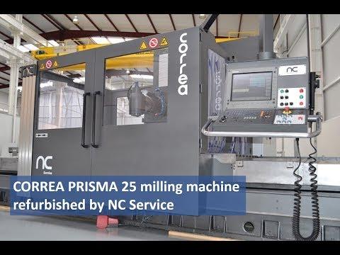 CORREA PRISMA 25 milling machine refurbished by NC Service