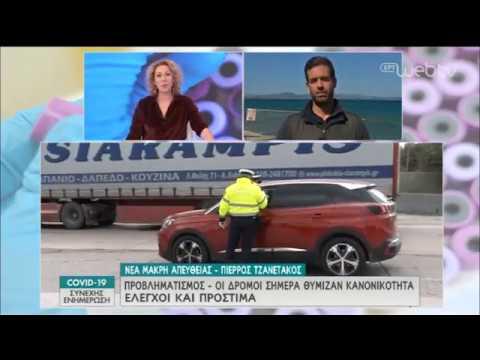 Γέμισαν τα εξοχικά στην περιοχή Μάκρης – Μαραθώνα, αυξημένη κίνηση στη Μαραθώνος | 16/04/2020 | ΕΡΤ