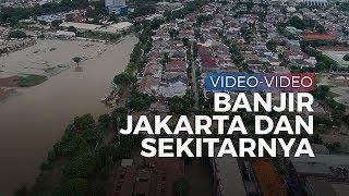 Deretan Video Banjir Jakarta dan Sekitarnya, Orang Tewas Kesetrum, Muncul Ular, Banyak Mobil Hanyut