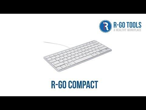 R-Go Compact Ergonomisch Toetsenbord
