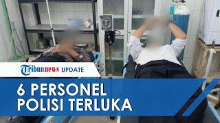 6 Polisi Terluka akibat Aksi Ricuh BLT di Mandailing, Dilempari Batu dan Kayu oleh Ratusan Pendemo