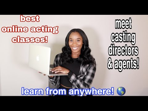 BEST ONLINE ACTING CLASSES! MEET AGENTS & CASTING DIRECTORS FROM ANYWHERE! 2020