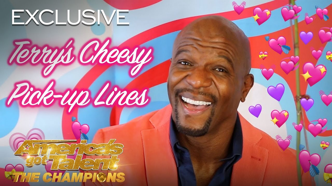 Terry Crews Gives The BEST Pick-up Lines For Valentine's Day - America's Got Talent: The Champions thumbnail