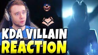 NEW K/DA SONG - 'VILLAIN' REACTION! NEW VIDEO + KDA ALBUM!!! - League of Legends