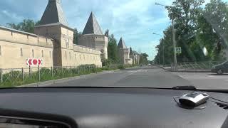 Урок Вождения в городе Пушкин.