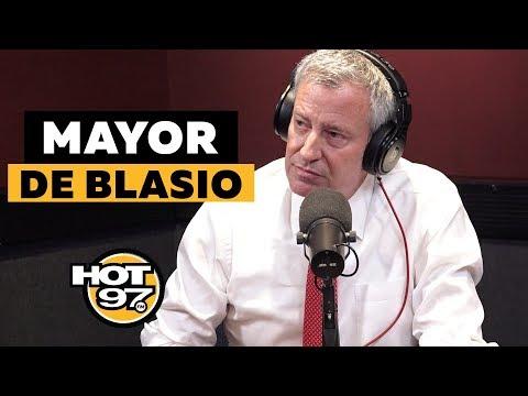 Ebro Grills Mayor de Blasio Over Eric Garner Case & Addresses NYC Blackout + Presidential Run