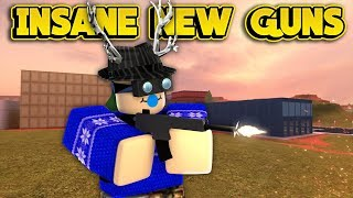 INSANE NEW GUNS NEXT UPDATE! (ROBLOX Jailbreak)