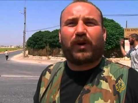 الجيش السوري الحر يهاجم أكبر قاعدة عسكريـة