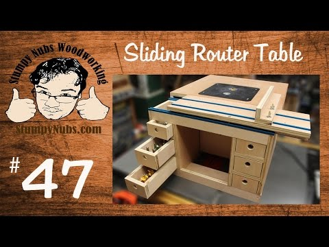 SNW47- Build your own Festool CMS style homemade router table with