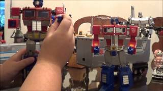 Masterpiece MP-04/1 MP-10 Optimus Prime comparison