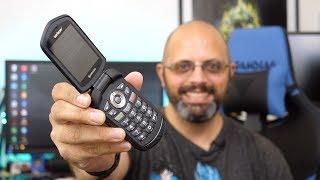 Using The Kyocera DuraXV/XE A 2014 Flip Phone In 2018 #Verizon