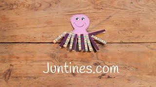 MANUALIDADES con pinzas de madera | Cómo hacer ANIMALES de papel