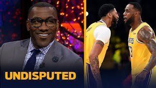 Shannon Sharpe reacts to Anthony Davis' 40- 20 night in Lakers win over Grizzlies | NBA | UNDISPUTED