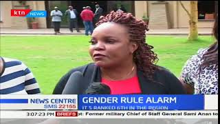 Women MPs  call on the enactment of the two-thirds gender rule law