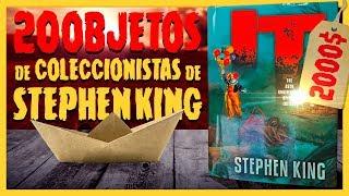 20 OBJETOS RAROS PARA COLECCIONISTAS DE STEPHEN KING - CURIOSIDADES