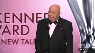 BERT NEWTON PRESENTS GRAHAM KENNEDY AWARD | 2018 TV Week Logie Awards