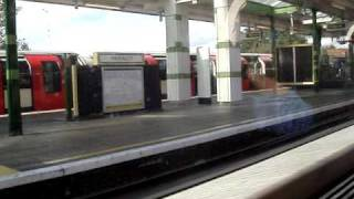 preview picture of video 'Travelling from Hainault to Fairlop stations'