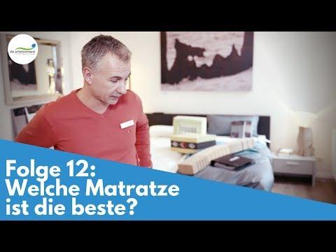 Folge 12: Welche Matratze ist die beste?