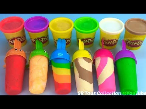 How to Make Play Doh Ice Cream with Molds Fun and Creative for Kids