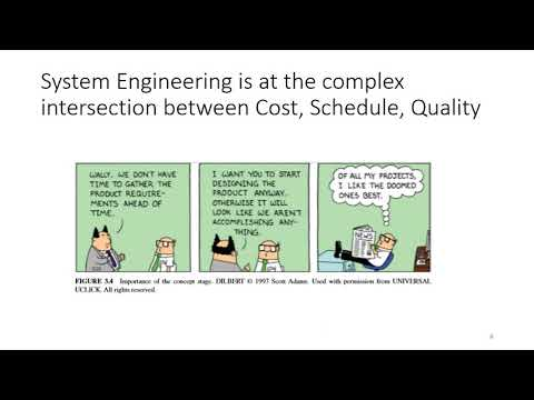 INCOSE SE Handbook - Video 1- Intro to Systems, Life Cycles, and ...