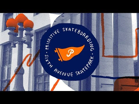 Primitive Skate x Sixth Ave Skatepark Nashville, TN Demo