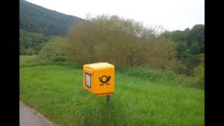 preview picture of video 'Bildimpressionen Bushaltestelle Rainbach bei Neckargemünd 2014'