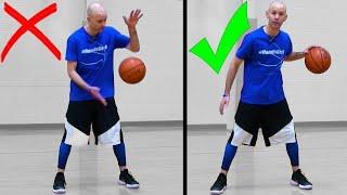 How To Dribble A Basketball For Beginners! Basketball Basics [SECRETS]