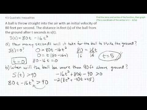 Solving Quadratic Inequalities p6