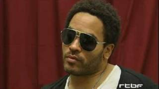 Ленни Кравиц, Werchter 2008: Interview de Lenny Kravitz