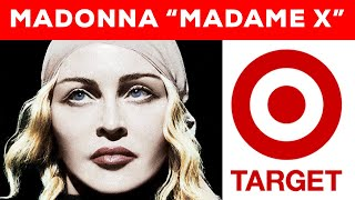 "Madonna's New ""Madame X"" Album Goes Exclusive To Target Stores!"