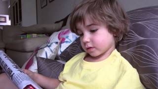 4 year old reading fluently - learn to read
