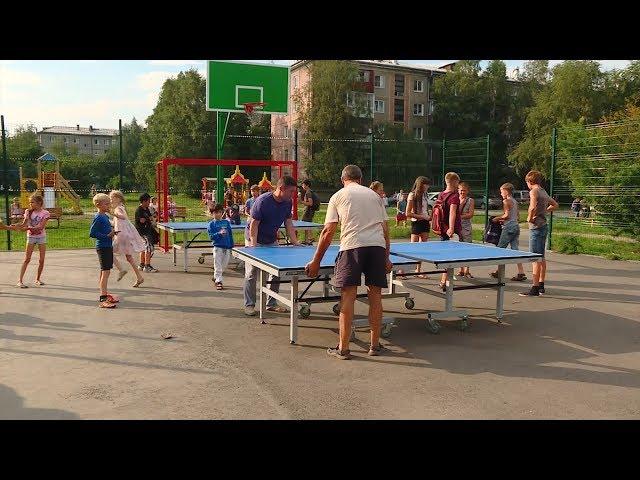 Ангарская детвора полюбила спорт