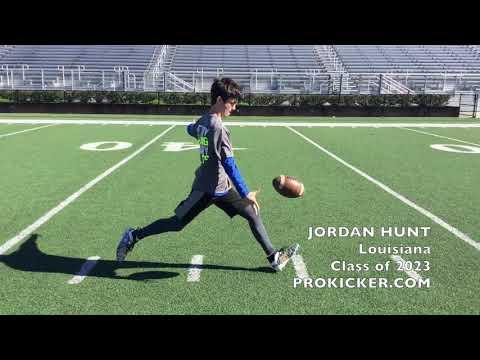Jordan Hunt - Prokicker.com Punter - Louisiana - Class of 2023