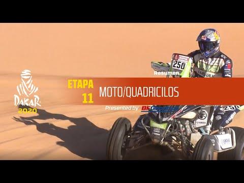 Dakar 2020/ Etapa 11 - resumen motos y quads