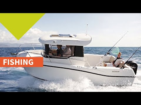 Quicksilver 605 Pilothouse video
