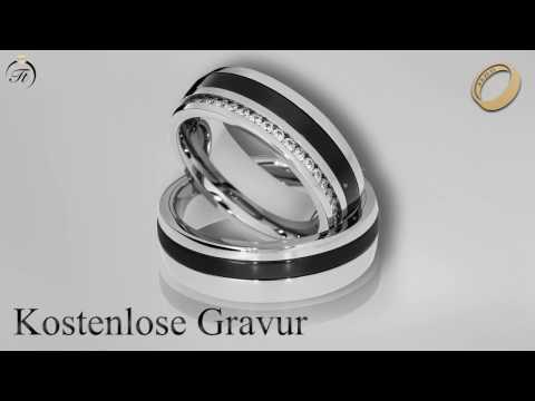Partnerringe aus Keramik - TraumTrauringe.de