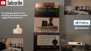 StudioSync Bluetooth Music Shelf Unboxing, Overview & Sound Demo