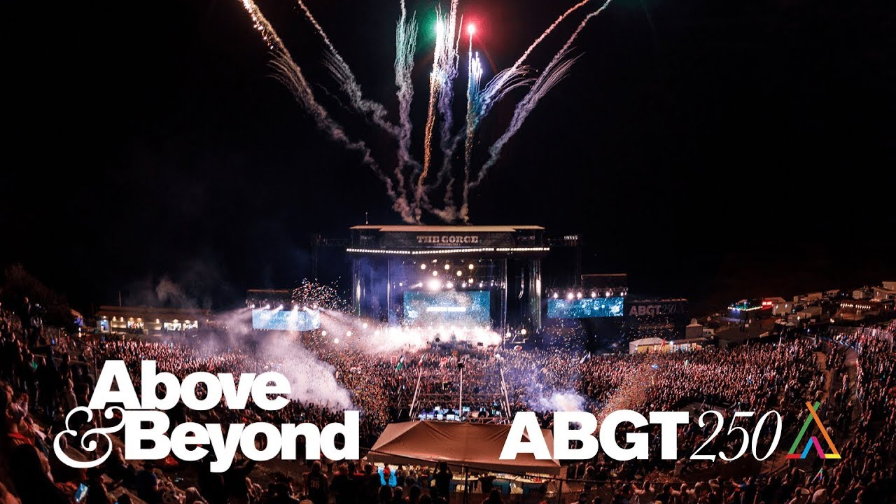 Above & Beyond - Live @ ABGT250, The Gorge Amphitheatre 2017