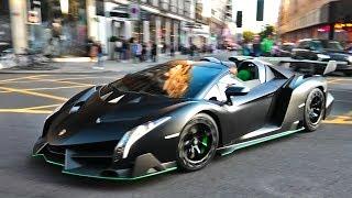 $6.5Million Arab Lamborghini Veneno CHAOS In London!