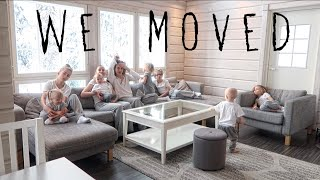 WE MOVED / HOUSE TOUR + Vlog