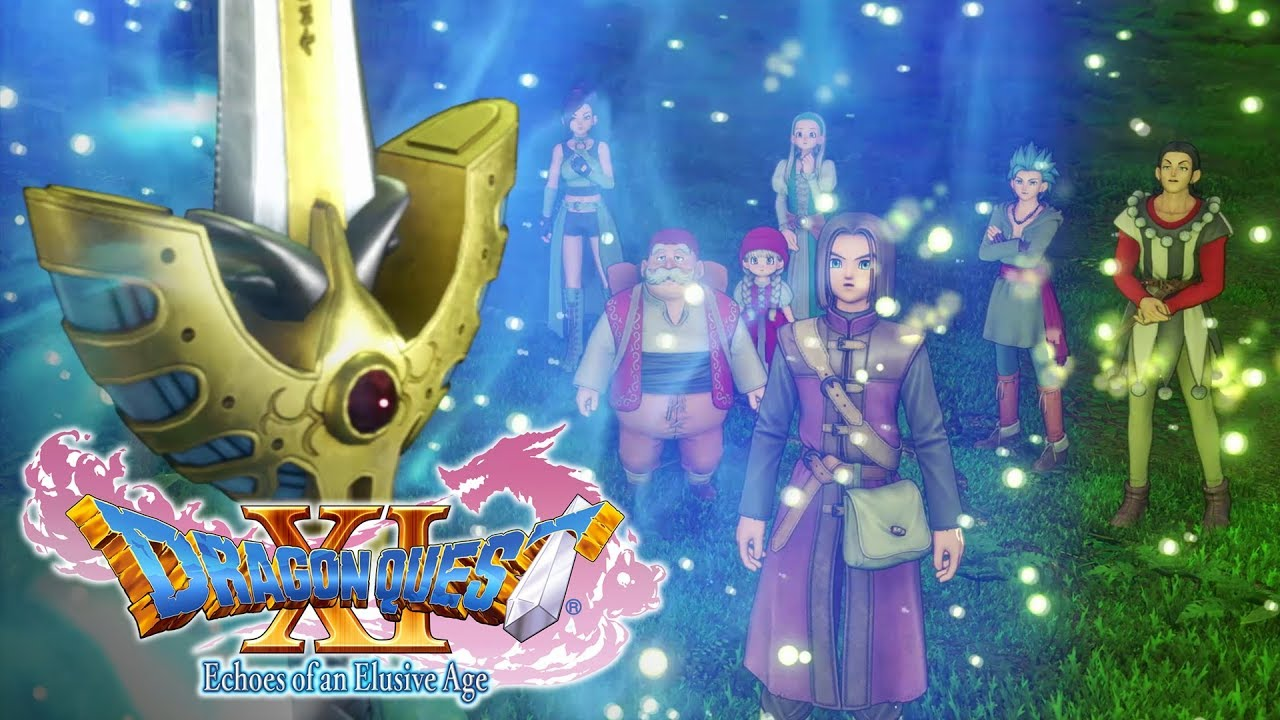 Video DRAGON QUEST® XI: Echoes of an Elusive Age™ - Edition of Lost Time [PS4]