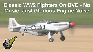World War 2 Fighters In Action